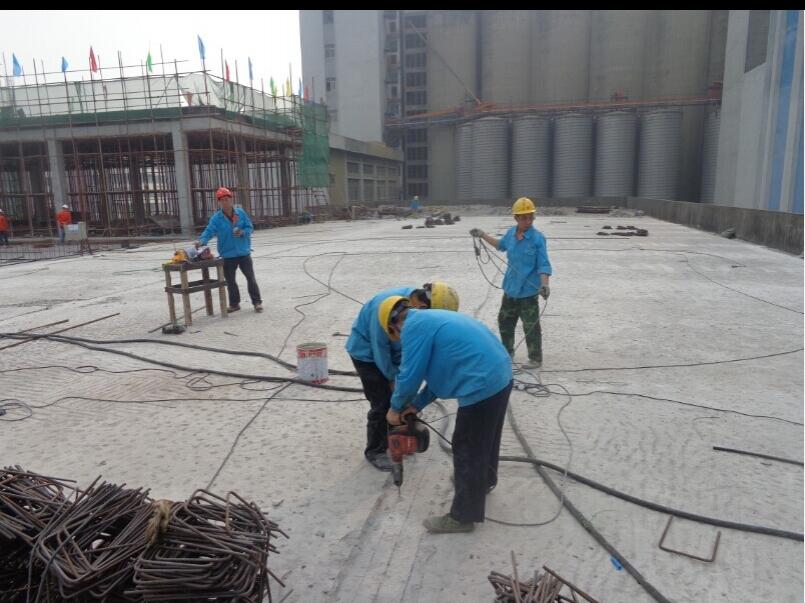 广州麦芽厂房增层加固改造工程