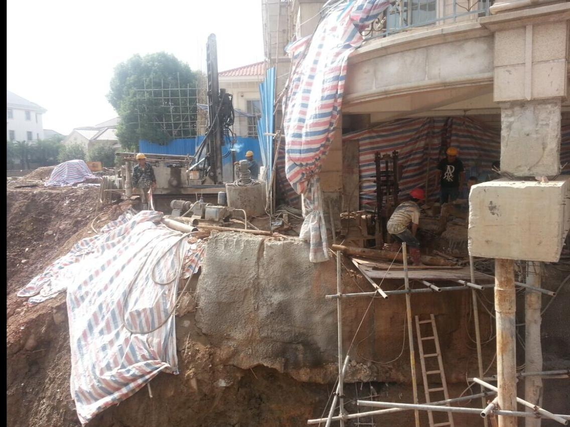 某房屋基础托换加固工程
