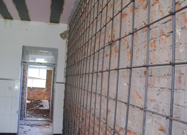 提示:砖混结构加固与修复的注意事项