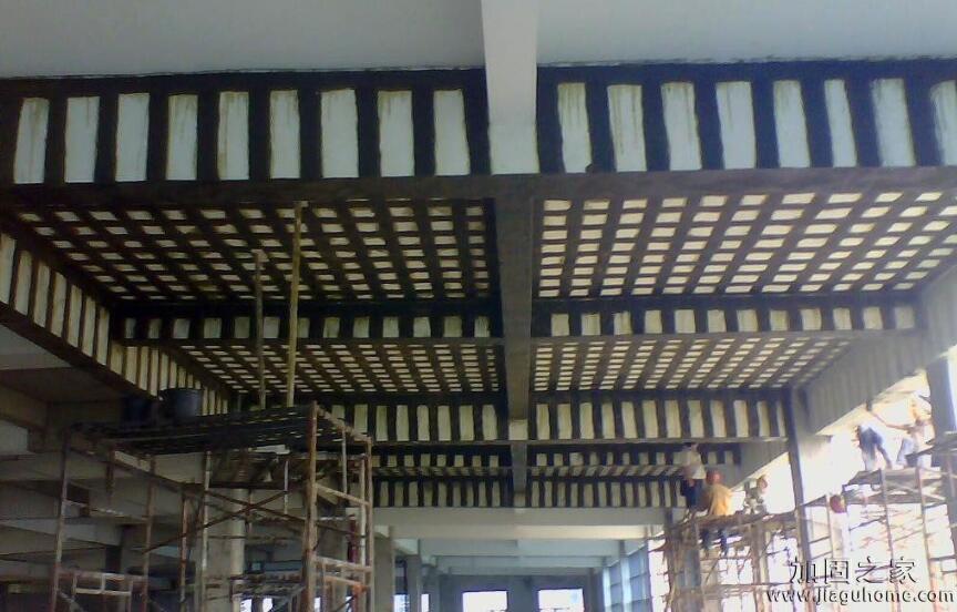 碳纤维加固楼板施工步骤