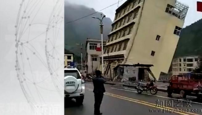 西藏一高楼地基被洪水冲垮倒塌,论地基加固的好处