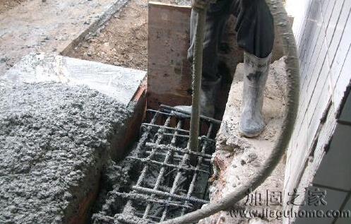地震灾区的基础注浆加固说明