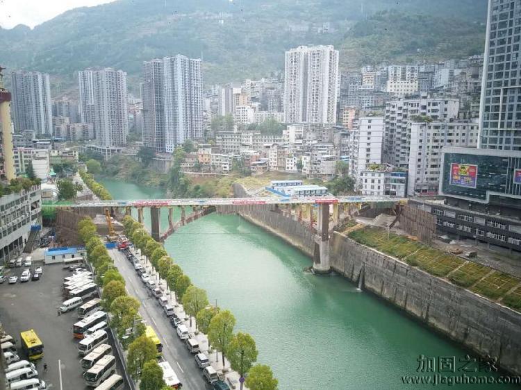 郁江大桥未爆破之前图片