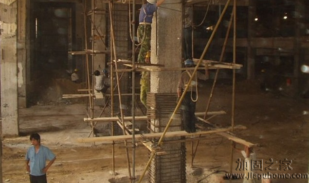 巧妙运用柱子加固方法
