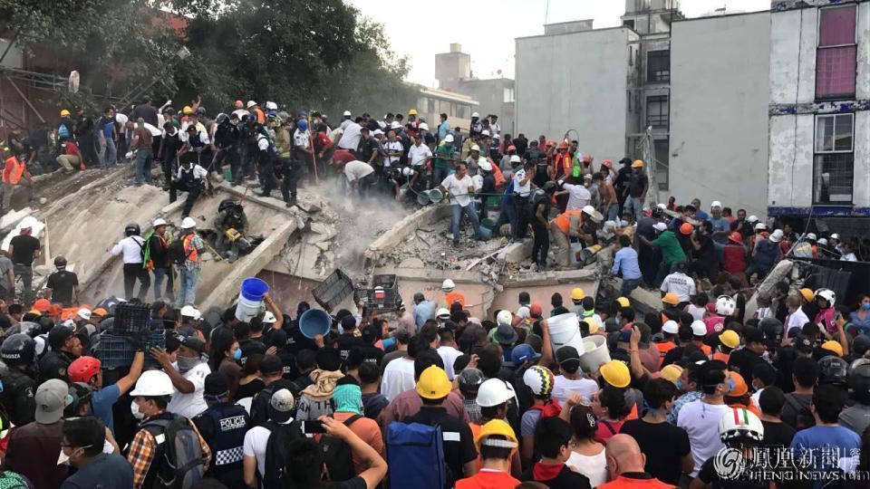 墨西哥近两周来的第二次强烈地震,震级7.1级损失惨重