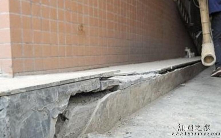 房子地基下沉一般几年?轻微下沉怎么办?