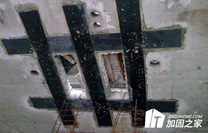 楼板加固技术之粘刚加固法