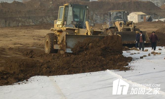 土工布加固地基的方法及施工要求