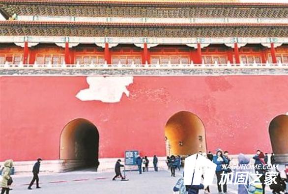 故宫墙皮被风吹落,古建筑修缮加固怎么做?