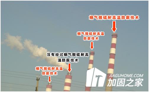 分享锅炉烟囱内壁防腐方案