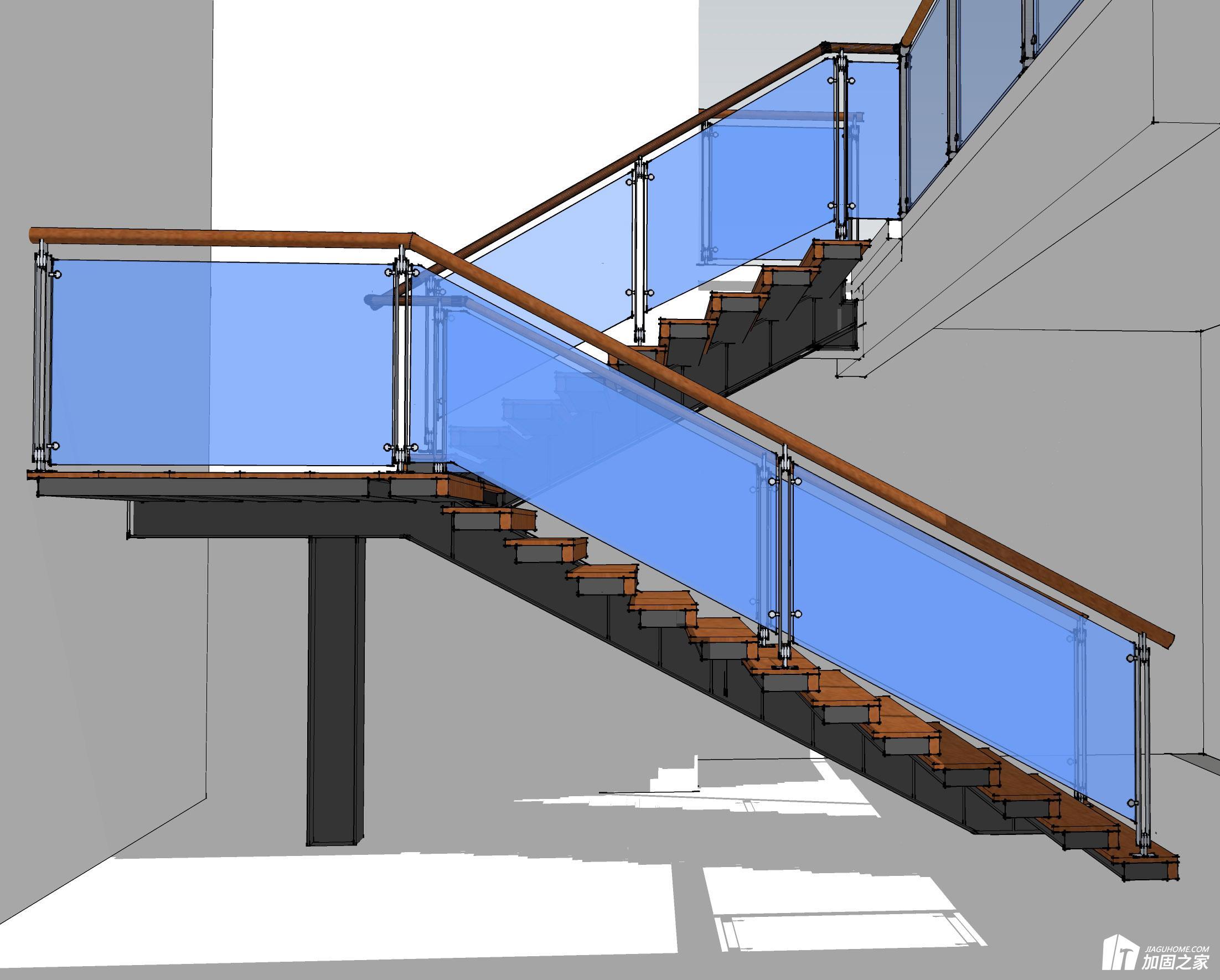 工字钢加固楼梯洞口的安装步骤