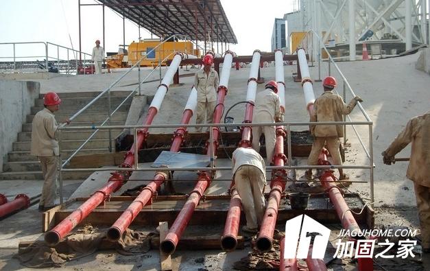 泵管加固的辅助工具保障你的安危