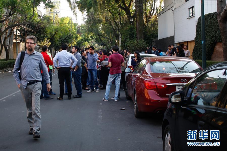 墨西哥发生7.1级地震