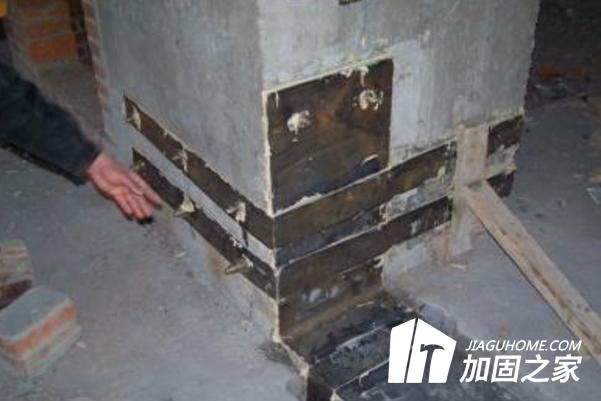 外粘型钢加固技术和粘贴钢板加固技术