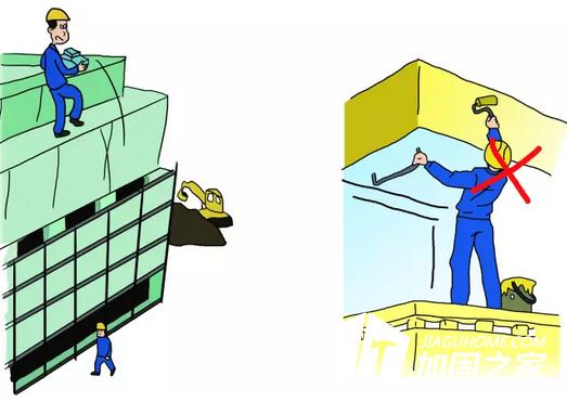建筑加固施工现场防护措施!