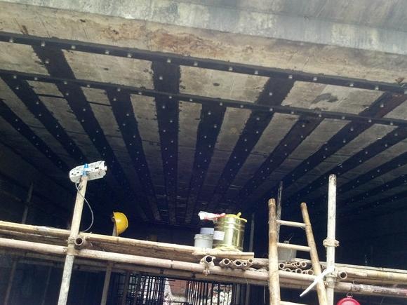 珠海桥梁粘钢板加固工程案例