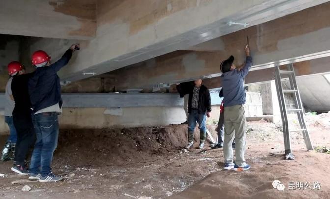 禄劝公路分局完成危桥加固工程第三方检测工作