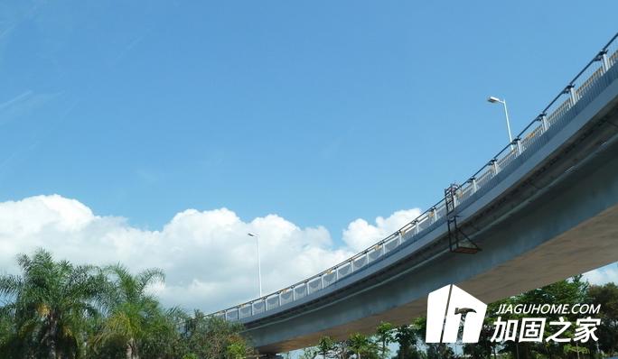 娄涟大道跨新星北路立交桥改扩建工程,碳纤维加固桥梁施工工艺