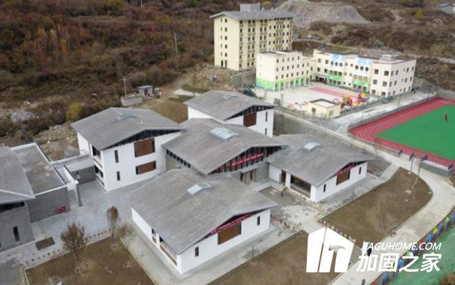 漳扎小学重建竣工,抗震强度增强