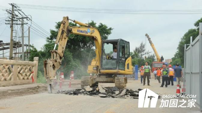 广西省|马毡大桥维修加固工程破土动工