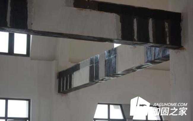 住宅现浇楼板切角裂缝加固补强