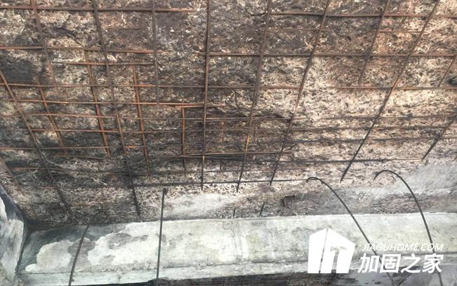 对于火灾过后的建筑物加固补强