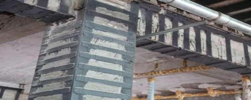 粘钢加固柱的受力机理