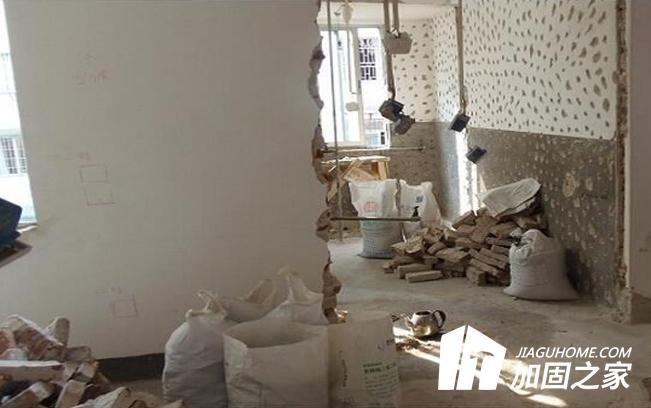 房屋装修改变结构要加固