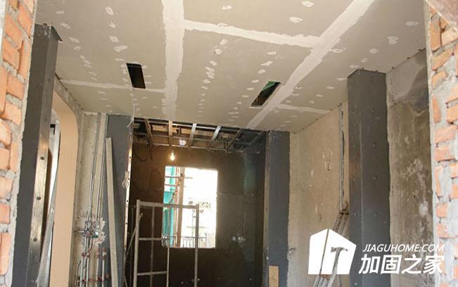 房屋装修中承重墙遭到破坏如何加固?