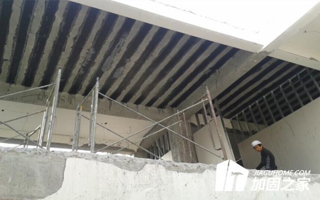 碳纤维布加固房屋裂缝