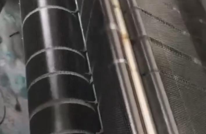 碳纤维布生产过程