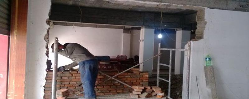 砖混结构的房子拆墙怎么加固