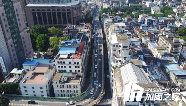 人民路高架桥维修,用的材料竟然是它!