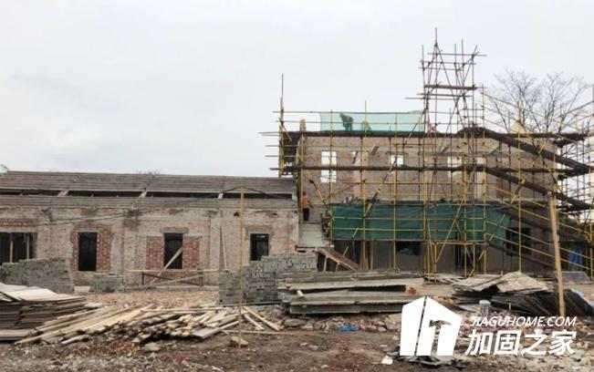 农村老房的4大基础加固方法
