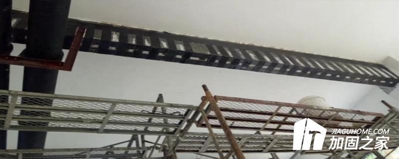 粘贴碳纤维加固法