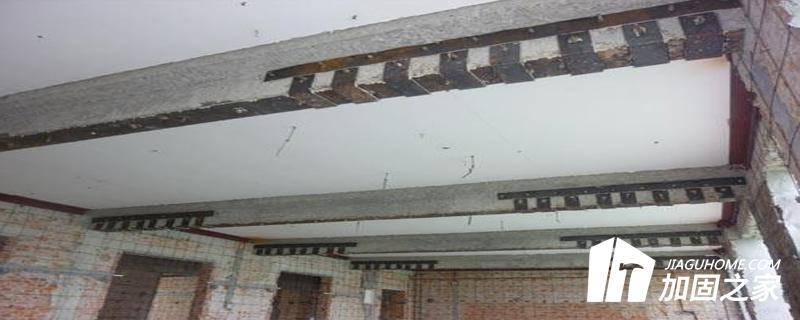 厂房采用外包钢加固法