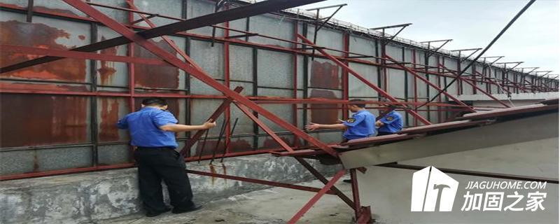 户外悬挂物安全性检测