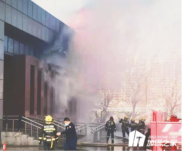 哈尔滨市松北区一钢结构加固改造工程楼体起火 加固改造要加强安全防范措施