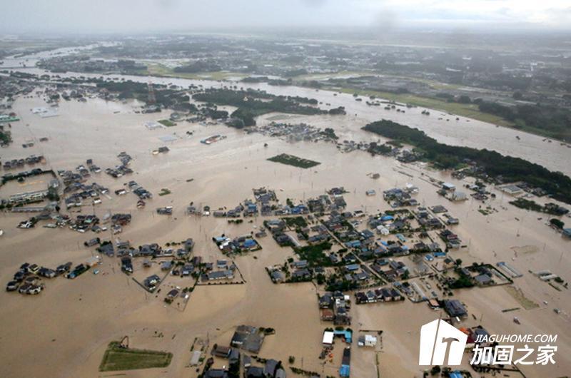 洪水对建筑物的破坏形式