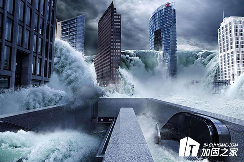 洪水侵蚀,建筑物会坍塌吗?