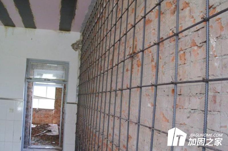 砖结构房屋的抗震加固方法