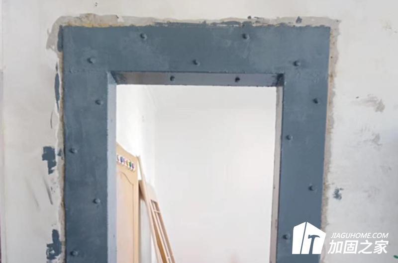 楼板开洞加固粘钢法